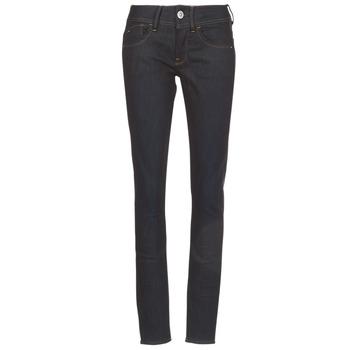 textil Dame Jeans - skinny G-Star Raw LYNN MID SKINNY Blå / Mørk / Ældet