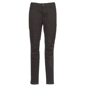 textil Dame Cargo bukser G-Star Raw ROVIC MID SKINNY Sort