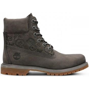 Sko Dame Høje sneakers Timberland 6IN Premium Boot W Grå, Brun