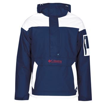 textil Herre Jakker Columbia CHALLENGER PULLOVER Marineblå / Hvid
