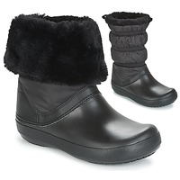 Sko Dame Vinterstøvler Crocs CROCBAND WINTER BOOT Sort