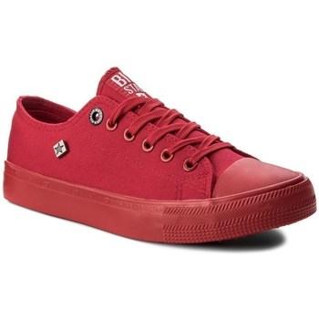 Sko Dame Lave sneakers Big Star AA274007 Rød