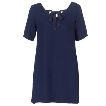 textil Dame Korte kjoler Betty London HOUNI Marineblå
