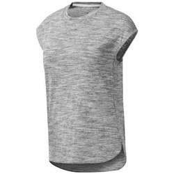 textil Dame T-shirts m. korte ærmer Reebok Sport EL Marble Grå