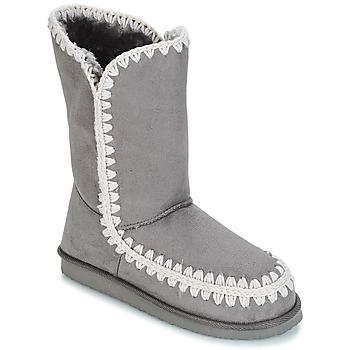 Sko Dame Chikke støvler LPB Shoes NATHALIE Grå