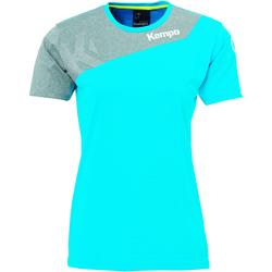 textil Dame T-shirts m. korte ærmer Kempa Maillot femme  Core 2.0 bleu flash/gris