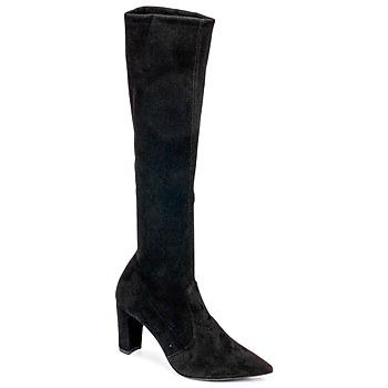 Sko Dame Chikke støvler Perlato JEANY Cam / Stretch / Sort