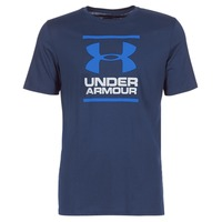 textil Herre T-shirts m. korte ærmer Under Armour UA GL FOUNDATION SS T Marineblå