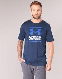 textil Herre T-shirts m. korte ærmer Under Armour UA GL FOUNDATION SS T Marineblå