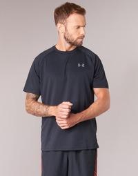 textil Herre T-shirts m. korte ærmer Under Armour UA TECH SS TEE Sort