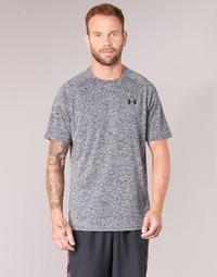 textil Herre T-shirts m. korte ærmer Under Armour UA TECH SS TEE Grå