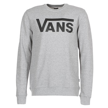 textil Herre Sweatshirts Vans VANS CLASSIC CREW Grå