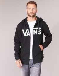 textil Herre Sweatshirts Vans VANS CLASSIC ZIP HOODIE Sort