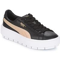 Sko Dame Lave sneakers Puma WN PLATFORM TRACE BSQT.BLK Sort