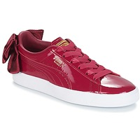 Sko Dame Lave sneakers Puma WN SUEDE BOW PATENT.TIBETA Rød