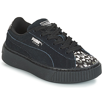 Sko Pige Lave sneakers Puma G PS S PLATFORM ATHLUXE.BL Sort