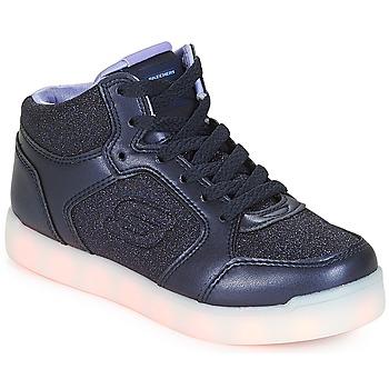 Sko Pige Høje sneakers Skechers ENERGY LIGHTS Navy