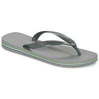 Sko Flip flops Havaianas BRASIL Grå