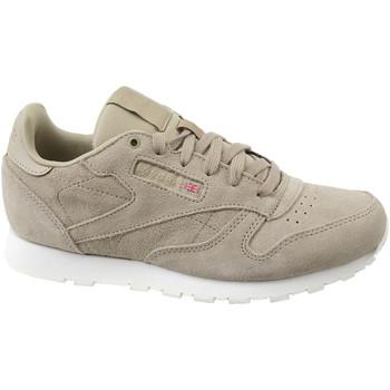 Sko Børn Sneakers Reebok Sport Cl Leather Mcc  CN0000