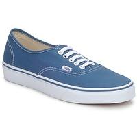 Sko Lave sneakers Vans AUTHENTIC Blå