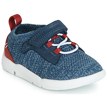 Sko Dreng Lave sneakers Clarks Tri Hero Blå / Kombi