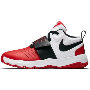 Sko Børn Basketstøvler Nike Boys'  Team Hustle D 8 (GS) Basketball Shoe 881941 001 ROJO
