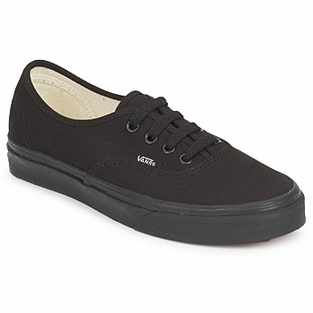 Sko Lave sneakers Vans AUTHENTIC Sort