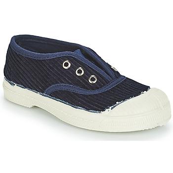 Sko Børn Lave sneakers Bensimon TENNIS ELLY CORDUROY Marineblå