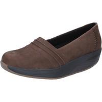 Sko Dame Mokkasiner Mbt Sneakers BY686 Brun