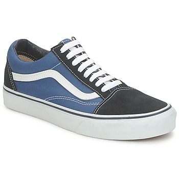 Sko Lave sneakers Vans OLD SKOOL Blå