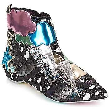 Sko Dame Støvler Irregular Choice Electric boots Sort / Sølv