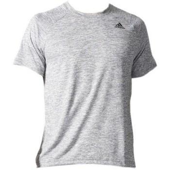textil Herre T-shirts m. korte ærmer adidas Originals D2M Tee HT Hvid