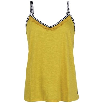 textil Dame T-shirts & Polo-t-shirts Protest TOP  FLAWLESS MUJER AMARILLO AMARILLO