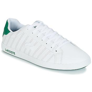 Sko Herre Lave sneakers Lacoste GRADUATE 318 1 Hvid / Grøn