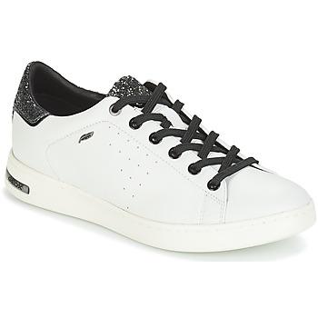 Sko Dame Lave sneakers Geox JAYSEN Hvid / Sølv