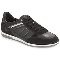 Sko Herre Lave sneakers Geox U RENAN Sort