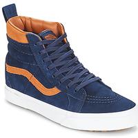 Sko Høje sneakers Vans Sk8-hi (mte) / Ruskind / Kjole / Blå