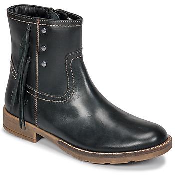 Sko Pige Chikke støvler Kickers MOLLY Sort