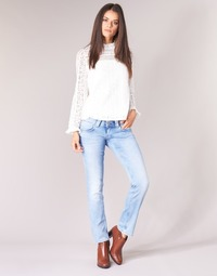 textil Dame Lige jeans Pepe jeans VENUS Blå / Lys