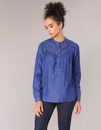 textil Dame Toppe / Bluser Pepe jeans ALICIA Blå