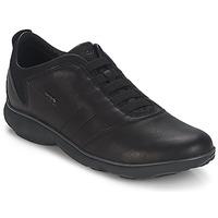 Sko Herre Lave sneakers Geox NEBULA B Sort