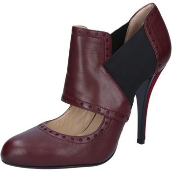 Sko Dame Højhælede sko Gianni Marra Ankelstøvler BY795 Violet