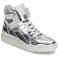 Sko Dame Høje sneakers Kennel + Schmenger TONIA Sølv