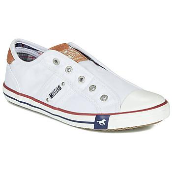 Sko Dame Lave sneakers Mustang NAJERILLA Hvid