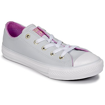 Sko Pige Høje sneakers Converse CHUCK TAYLOR ALL STAR HI Pure / Platin /  fuchsia / Gylden / Hvid