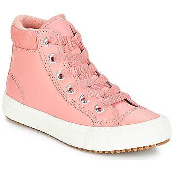 Sko Pige Høje sneakers Converse CHUCK TAYLOR ALL STAR PC BOOT HI Rustrød / Pink / Brændt / Karamel / Rustrød / Pink