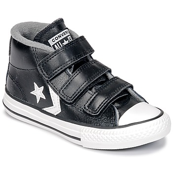 Sko Børn Høje sneakers Converse STAR PLAYER 3V MID Sort / Mason / Vintage / Hvid
