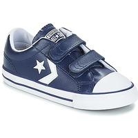 Sko Børn Lave sneakers Converse STAR PLAYER EV V OX Navy / Hvid