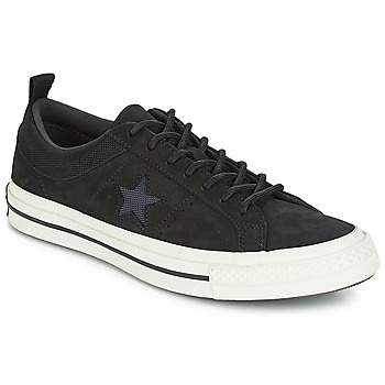 Sko Lave sneakers Converse ONE STAR LEATHER OX Sort