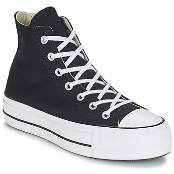 Sko Dame Høje sneakers Converse CHUCK TAYLOR ALL STAR LIFT CANVAS HI Sort
